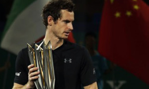 Andy Murray Shanghai Masters Tennis