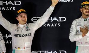 Nico Rosberg Drivers Championship Title F1 Abu Dhabi Grand Prix