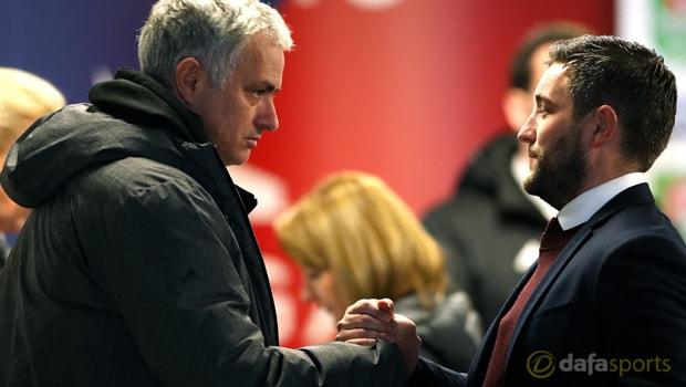 Manchester-United-Jose-Mourinho-and--Lee-Johnson-Football