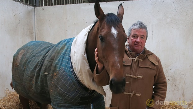 Trainer-Nigel-Twiston-Davies-and-The-New-One-Horse-Racing