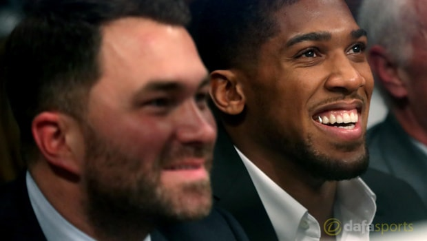 Eddie-Hearn-and-Anthony-Joshua-Boxing