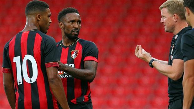 Eddie-Howe-Jermain-Defoe-AFC-Bournemouth-min