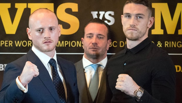Callum Smith vs George Groves Boxing