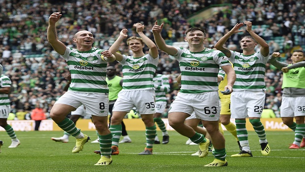 Kristoffer Ajer Celtic defender