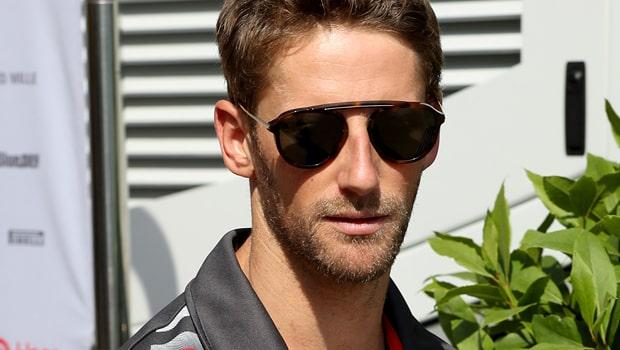 Romain Grosjean Haas Formula 1