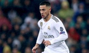 Real stumble at Levante, Hazard out indefinitely