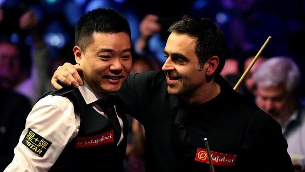 Ding Junhui and Ronnie O'Sullivan
