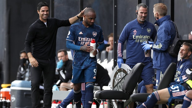 Alexandre Lacazette Europa League