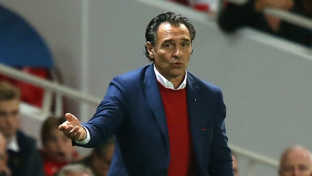 Cesare Prandelli Fiorentina coach