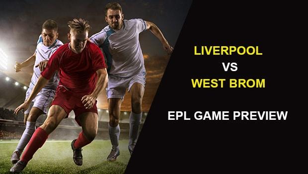Liverpool vs West Bromwich Albion