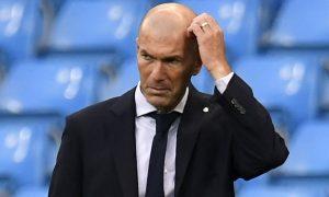 Zinedine Zidane Real Madrid manager