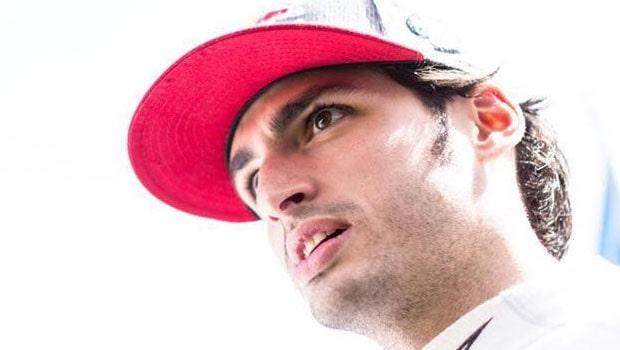 Sainz Debuts In Ferrari Test