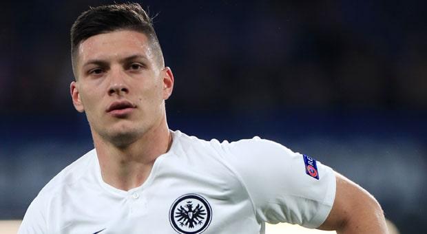Luka Jovic Eintracht Frankfurt