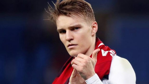 Arsenal signs Martin Odegaard on a loan deal