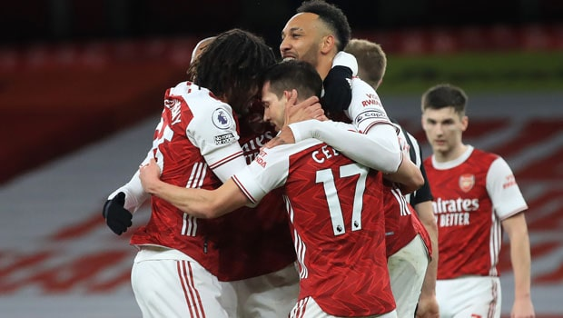 Aubameyang Scores Brace To Lead Arsenal's 3-0 Win Over Newcastle
