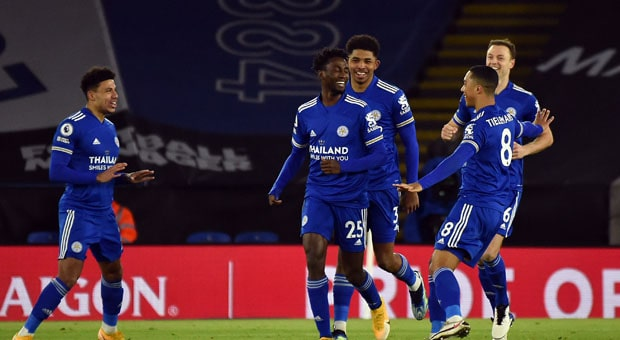 Ndidi Scores as Leicester Beat Chelsea To Go Top of the Table
