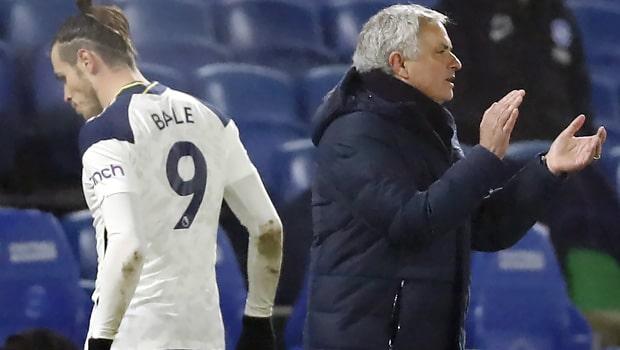 Jose Mourinho and Bale