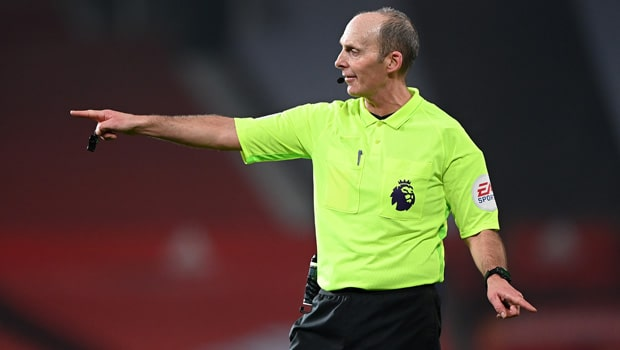 Mike Dean Premier League Referee