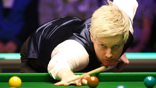 Neil Robertson Thrashes Lu Ning in First Round of 2021 Player Championship