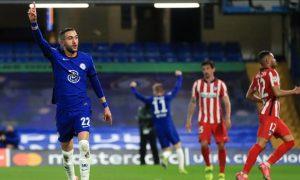 Hakim Ziyech Chelsea Champions League