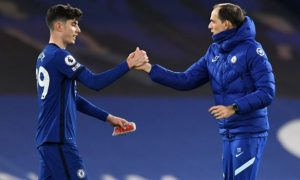 Kai Havertz and Thomas Tuchel Chelsea