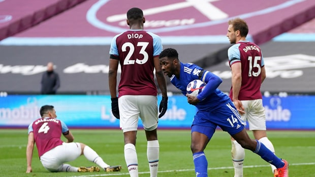 West Ham Defeat Leicester City 3-2 Despite Late Push from Kelechi Iheanacho