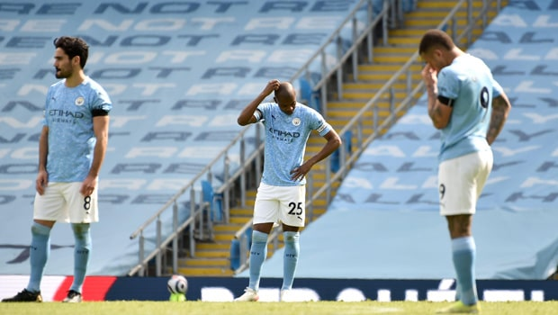Manchester City Fall Short to 10-Man Leeds United, 2-1