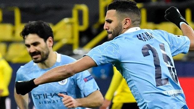 Riyad Mahrez Man City