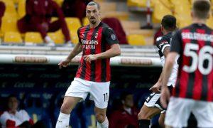 Zlatan Ibrahimovic AC Milan Serie A