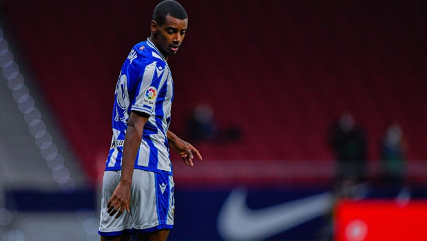 Alexander Isak Real Sociedad La Liga
