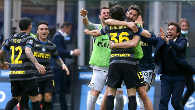 Inter Milan Crowned Seria A Champs for First Time in 11 Years