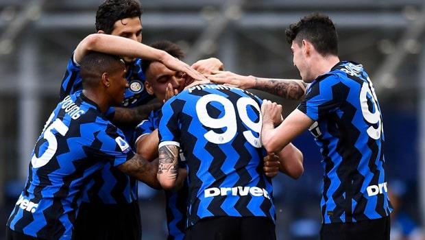 Ashley Young Inter Milan Serie A