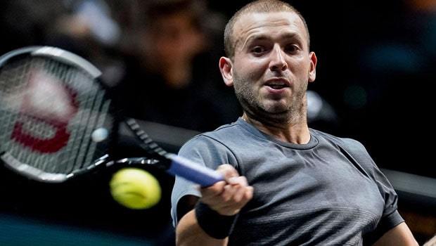 Evans Beats Chardy In First Round Of Madrid Open