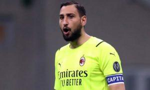 Gianluigi Donnarumma AC Milan Champions League