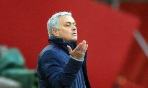 Jose Mourinho AS Roma Serie A