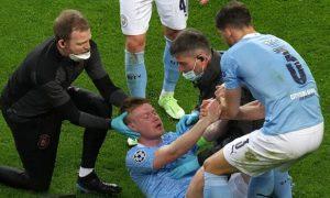 Kevin De Bruyne Man City Champions League