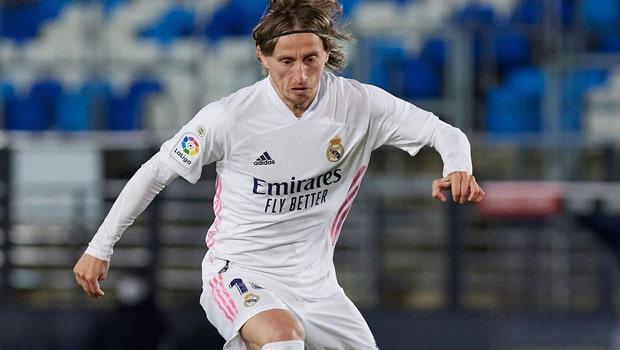 Luka Modric Real Madrid La Liga