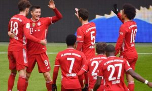 Robert Lewandowski Bayern Munich Bundesliga