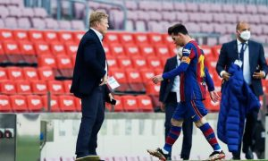 Ronald Koeman Barcelona La Liga