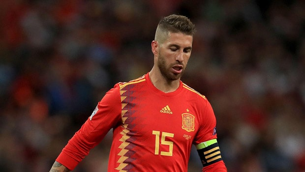 Sergio Ramos Spain Euro 2020-21