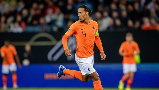 Virgil Van Dijk Euro 2020-21