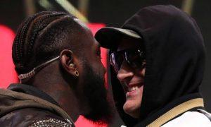 Wilder vs Fury Boxing