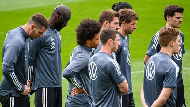 Antonio Rudiger Germany Euro 2020-21