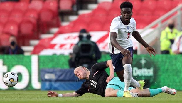 Bukayo Saka England Euro 2020