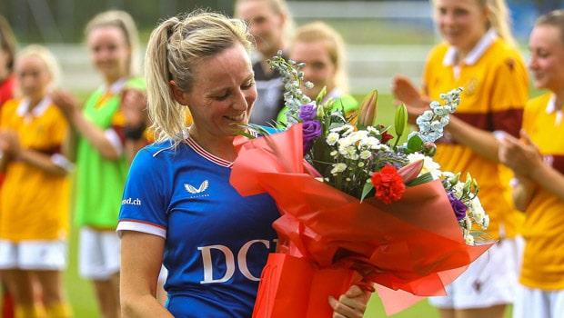 Clare Gemmell Rangers Women FC