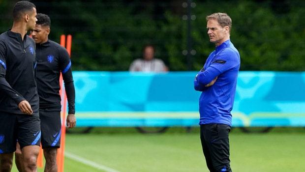 Frank de Boer Netherlands Euro 2020