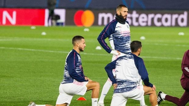 Karim Benzema Eden Hazard Euro 2020