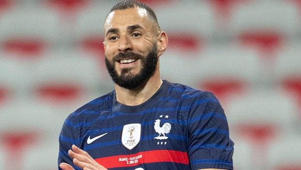 Karim Benzema France Euro 2020