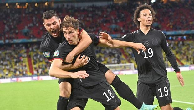 Leroy Sane Germany Euro 2020