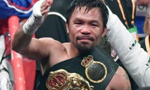 Manny Pacquiao v Spence Boxing